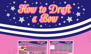 How to Draft a Bow – Maryjane's Bow Tutorial Part 1